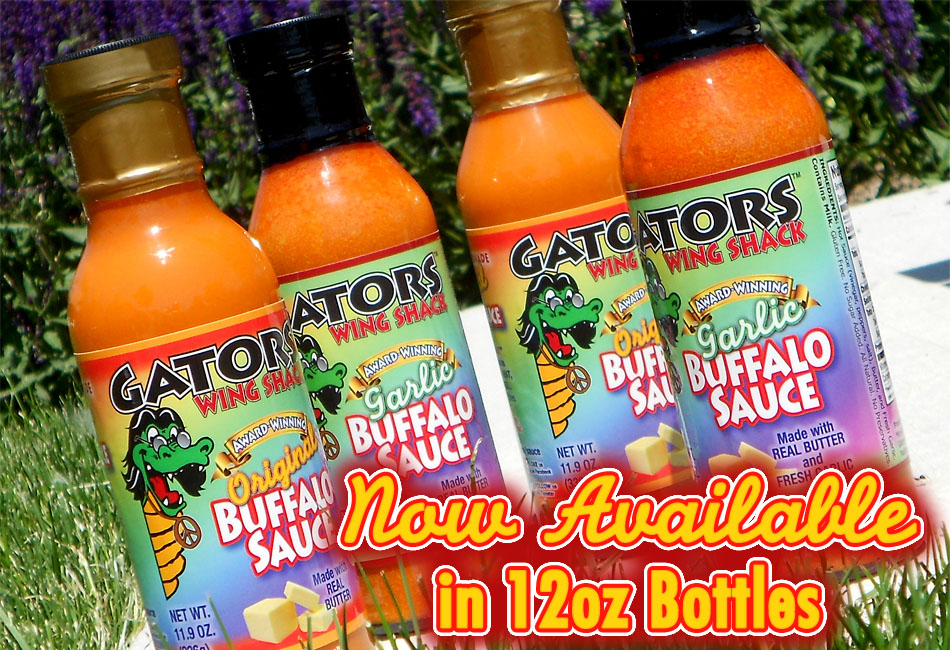 Gators Wing Shack - Award-Winning Buffalo Sauces - ORDER NOW